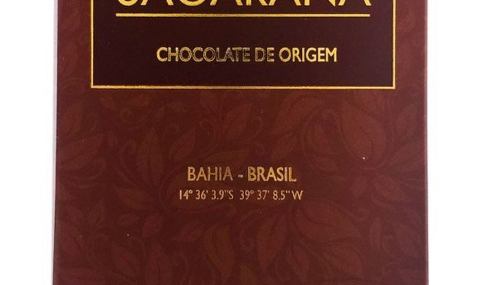 Chocolate Sagarana barra (80g)